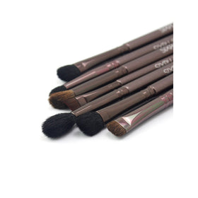 Metallic Cosmetic Eye Brush Set