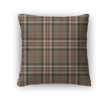 Throw Pillow, Tartan Plaid Pattern