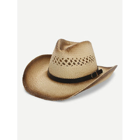 Hollow-Out Western Hat