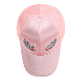 Pink Dragon Embroidery Baseball Hat