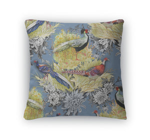 Throw Pillow, Pheasant Animals