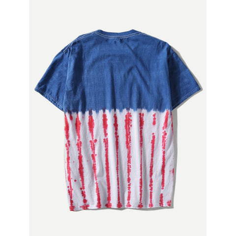 Men Tie Dye T-shirt