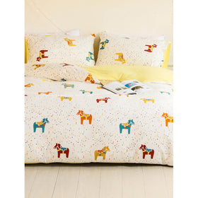Horse & Polka Dot Print Sheet Set