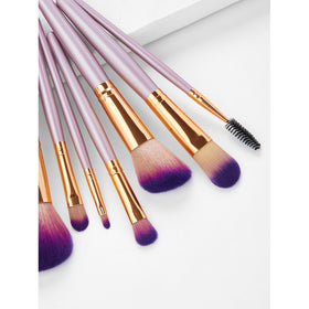 Ombre Bristle Professional Makeup Brush Set 10Pcs