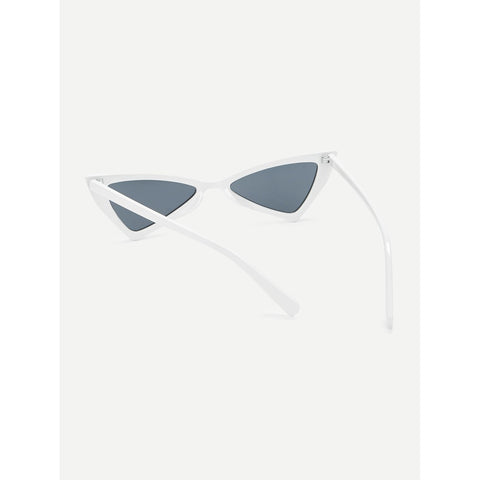 Triangle Design Mirror Lens Sunglasses