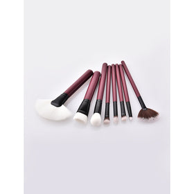 Fan Shaped Makeup Brush 8pcs