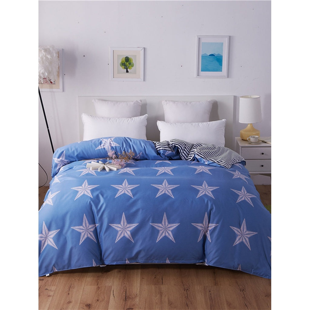 Star Print Duvet Cover
