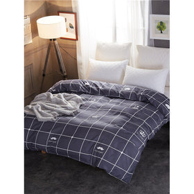 Plaid Print Duvet Cover