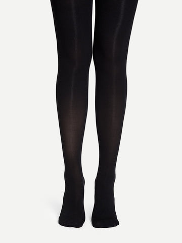 120D Plain Tights