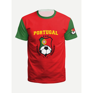 Men World Cup Print Tee