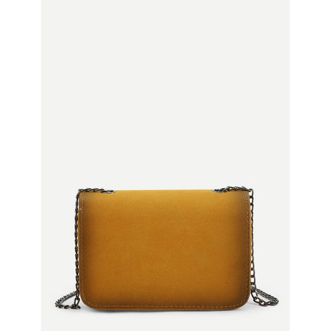 Twist Lock Chain Crossbody Bag