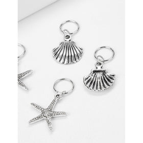 Shell Shaped Hair Ring Set