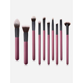 Two Tone Handle Makeup Brush Set 10Pc
