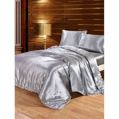 Solid Duvet Cover Set