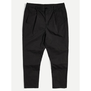 Men Button Fly Pocket Pants