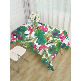 Tropical Leaves Print Table Cloth