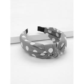 Polka Dot Twist Headband