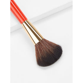 Fan Shaped Blush Brush 1pc