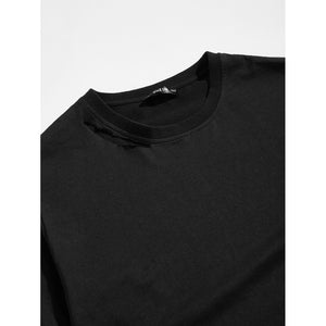 Men Plian Round Neck Tunic Tee