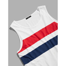 Men Cut and Sew Tank Top