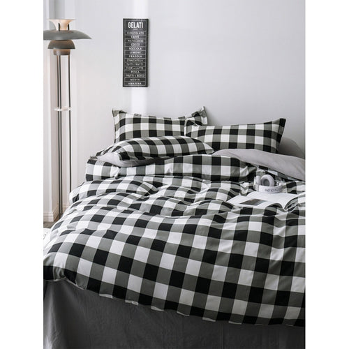 Plaid Print Sheet Set