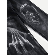 Men Abstract Skull Pants