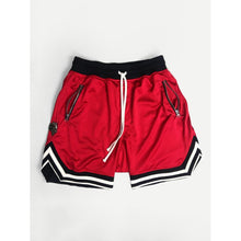 Men Striped Trim Drawstring Waist Shorts