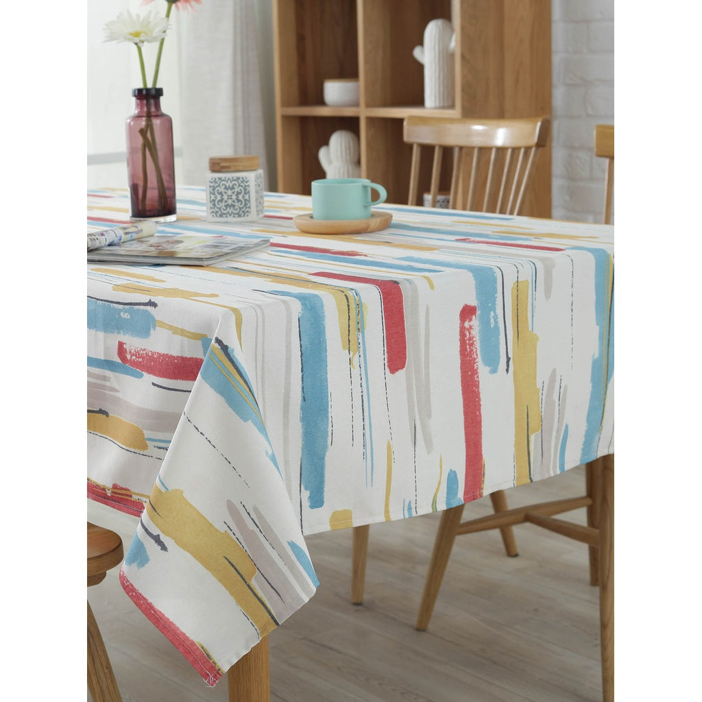 Watercolor Print Table Cloth