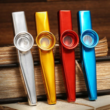 Metal Kazoo Lightweight Portable For Beginner Flute Instrument Music Lovers Woodwind Instrument Simple Design Lightweight Kazoo