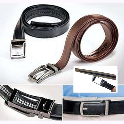 2019 Fashion Casual Comfort Click Waistband Strap Mens Belt Black or Brown New Belt