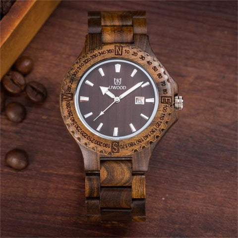 2017 Relogio masculino 1PC men's Watches Fashion Casual Unisex Wood Quartz Watch Women Men #0630