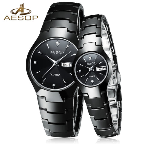 AESOP Ceramic Lover Couple Watch Women Men Sapphire Crystal Quartz Wristwatch Ladies Clock Montre Femme Relogio Feminino 2017 46
