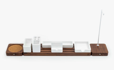 Gather Extended Set - Walnut