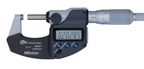 Mitutoyo Coolant Proof Micrometer Series 293-348-30