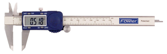 Fowler Xtra-Value Cal Electronic Caliper with Super Display - 6
