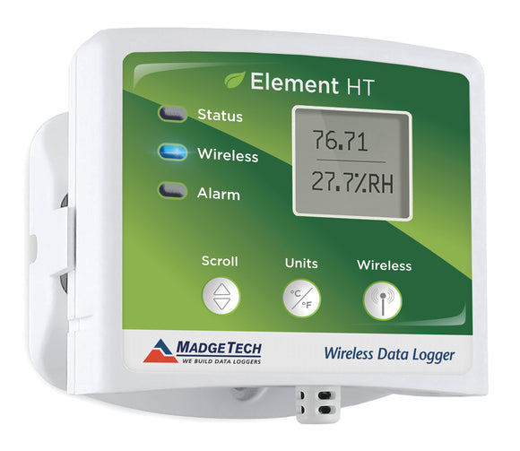 MadgeTech Element HT Wireless Humidity and Temperature Data Logger