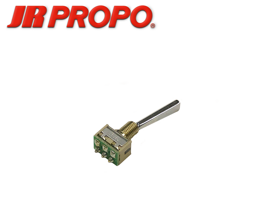 JR PROPO Toggle Switch 2pos. Flat Long