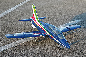 Mini MB 339 - Frecce Tricolori Version.