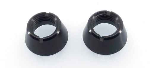 JETI DC-14/16 - Black nuts for upper switches - Front panel