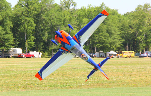 "60"" Extra 300-EXP V2 Orange/Blue/White With Spinner"