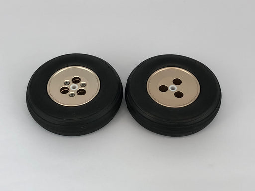 Main Wheel Set Alloy 4""