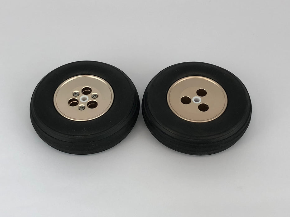 "Main Wheel Set Alloy 4"" 100mm"