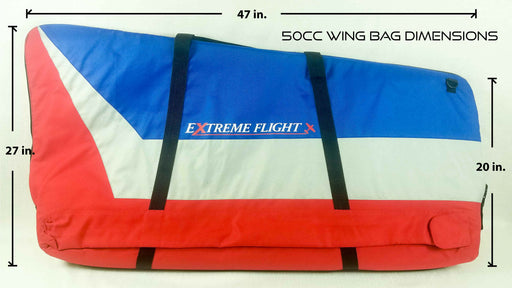 Extreme Flight Padded Wing Bag - 50cc