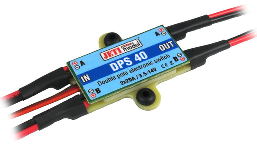 JETI DPS 40 twin electronic switch