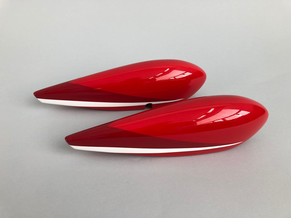 Extra 300 78 V3 Red/White/Black - Wheel Pants