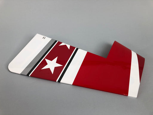 "104"" Extra 300 V2 Red/White/Black - Rudder"