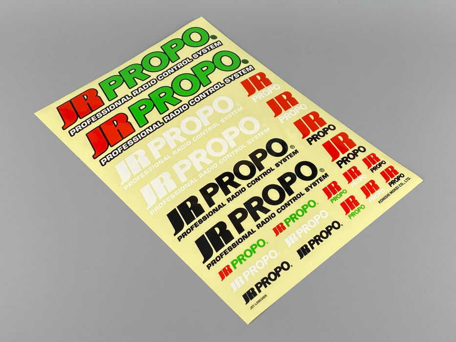 JR PROPO Stickers