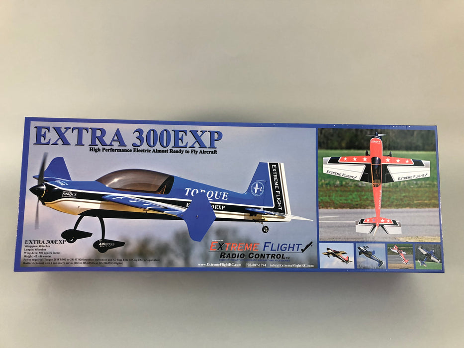 "48"" Extra 300-EXP Blue/White"