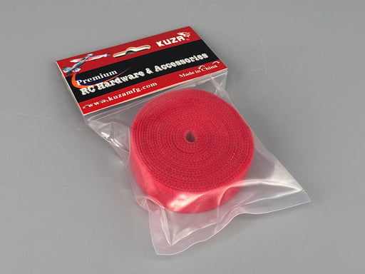 Velcro Straps 20mm Red