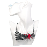 Spider Web Necklace - cheeky-trendy